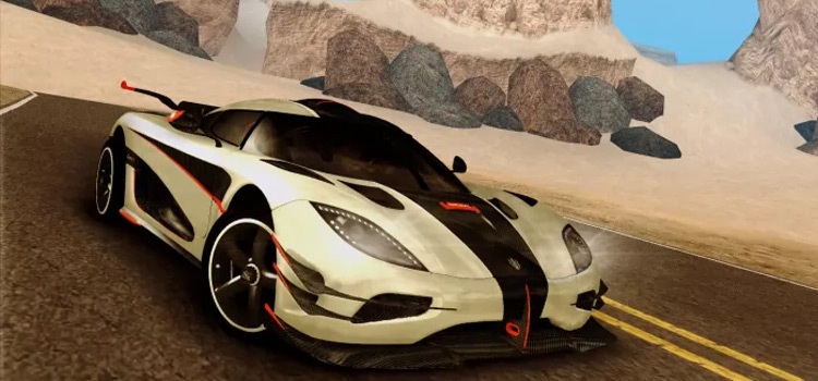 Koenigsegg car mod for San Andreas