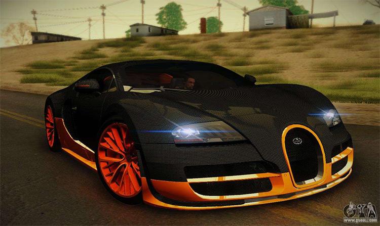 Bugatti Veyron Super Sport - Mod GTA SA