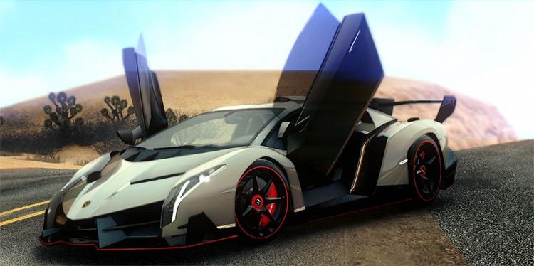 Lamborghini Veneno LP750-4 - San Andreas Mod