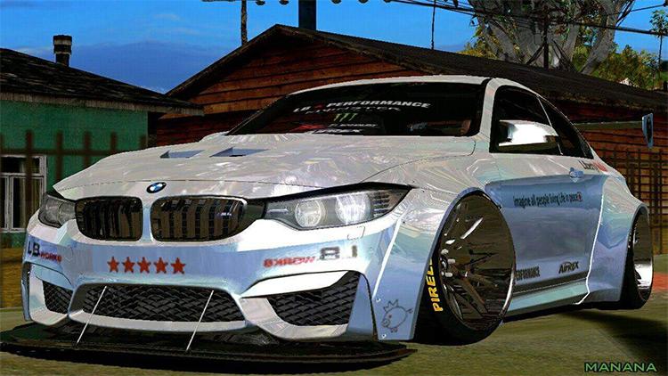 BMW M4 F82 Car Mod