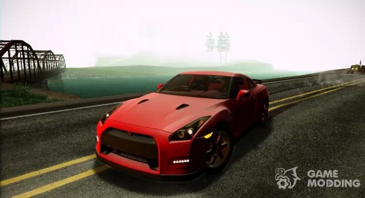 Nissan GTR EGOIST San Andreas Mod