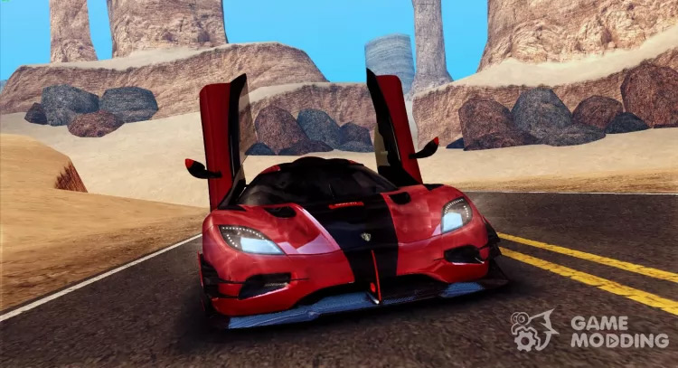 Koenigsegg One 2014 - San Andreas Mod