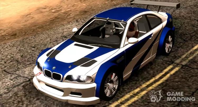 BMW M3 GTR E46 - San Andreas Mod