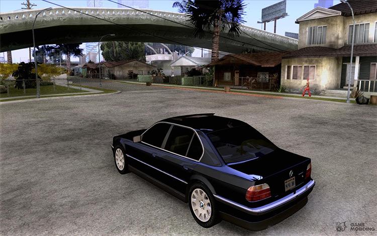 BMW 750i E38 - San Andreas Car Mod