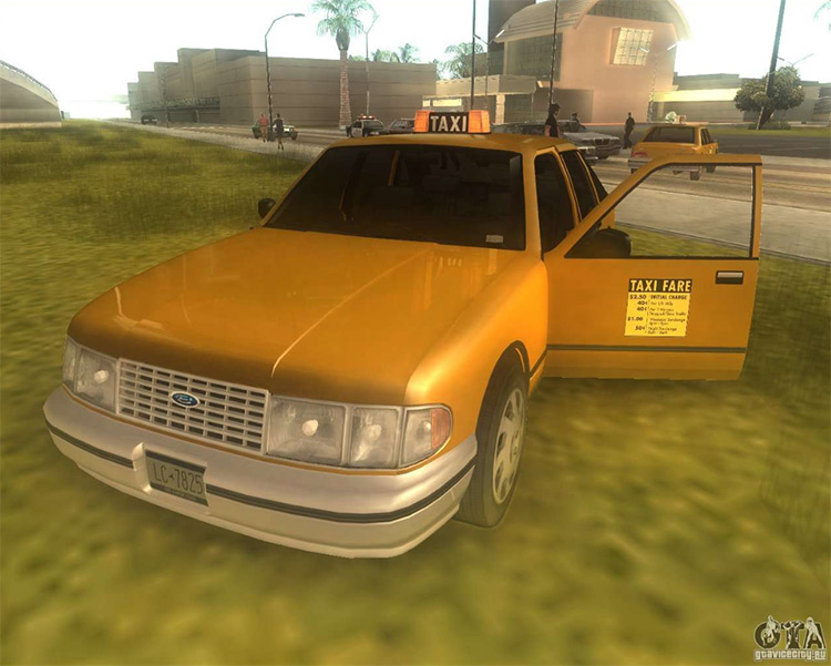 GTA3 HD Vehicles added into San Andreas