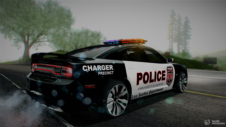 Dodge Charger SRT8 Police Car Mod
