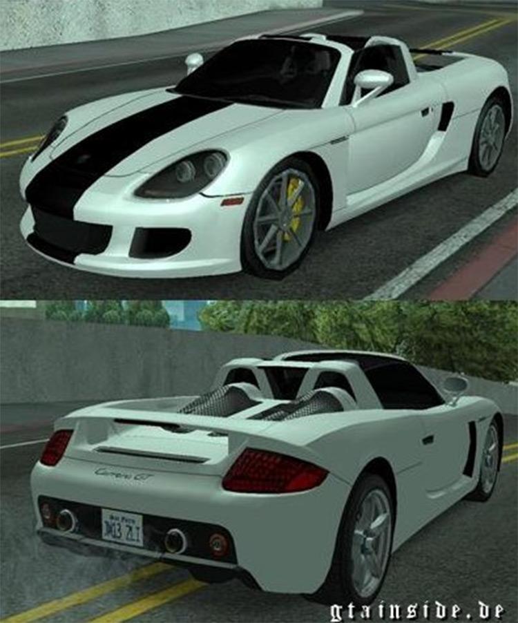 Porsche Carrera GT Mod - San Andreas