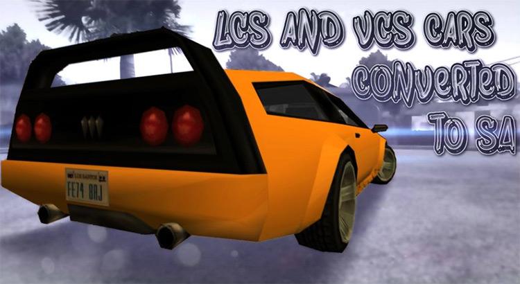 GTA LCS & VCS Cars Modpack