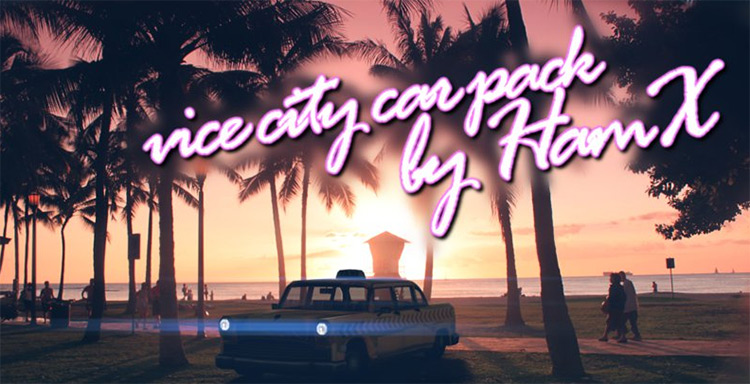 GTA Vice City Cars added for San Andreas