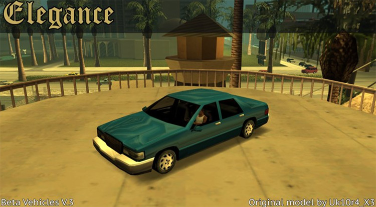 San Andreas Beta Vehicles Mod