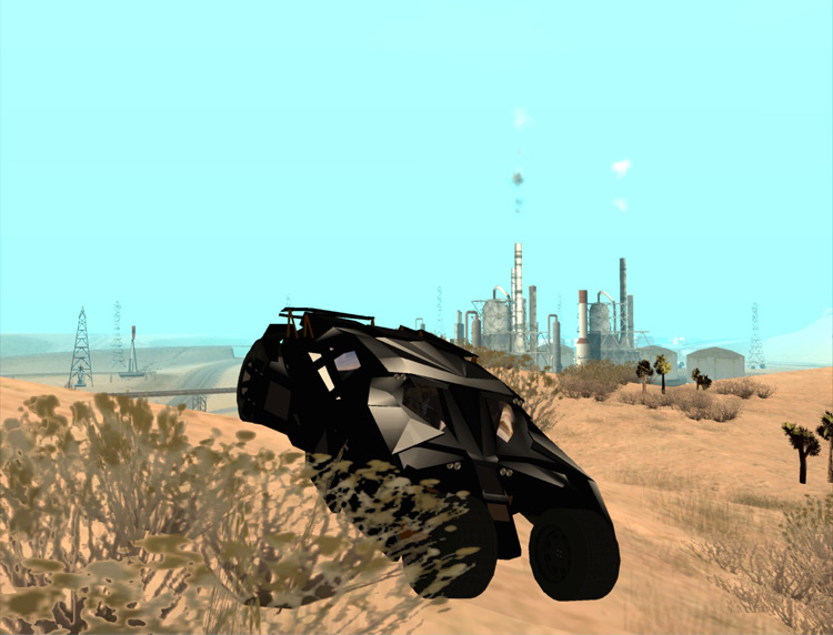 Batmobile Mod for San Andreas