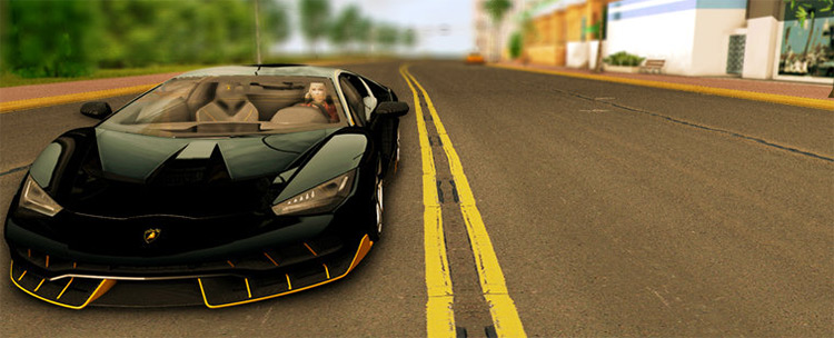 Lamborghini Centenario LP770-4 V1 - GTA3 Mod