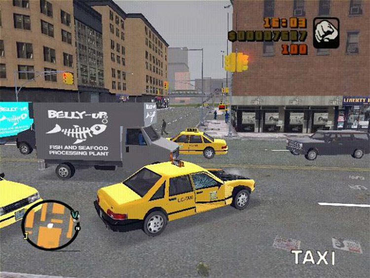 Liberty City Stories Cars Mod for GTA3