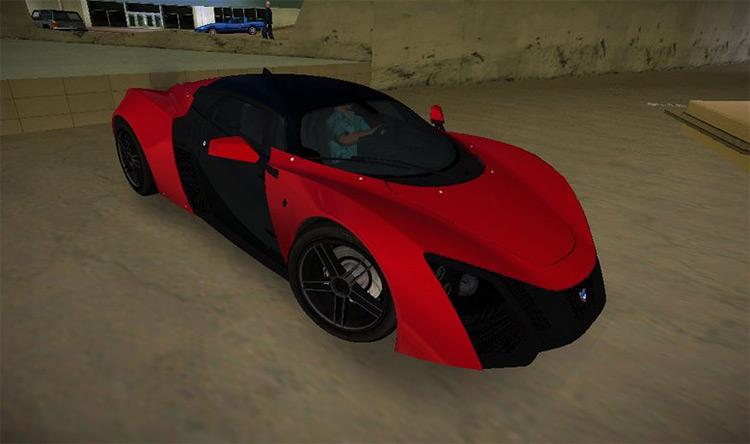 Marussia B2 2010 - GTA3 Car Mod