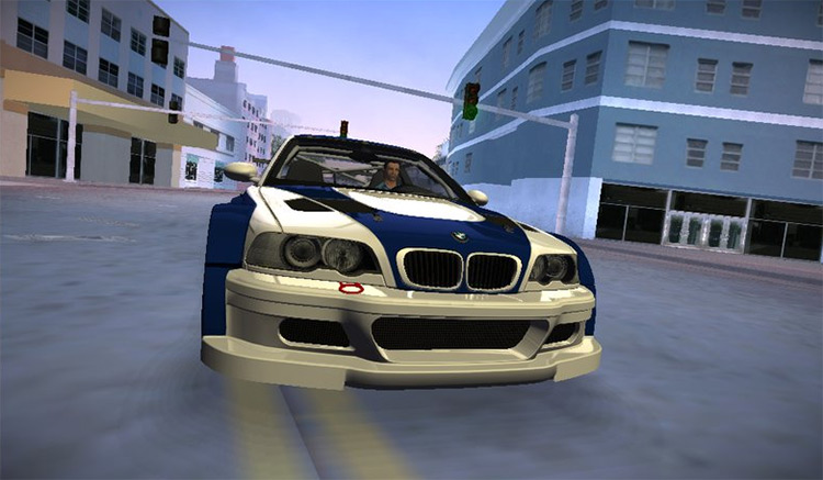 BMW M3 E46 GTR - GTA3 car Mod
