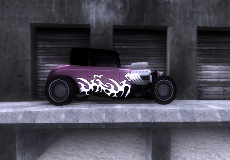 HD Hotknife car in GTA3