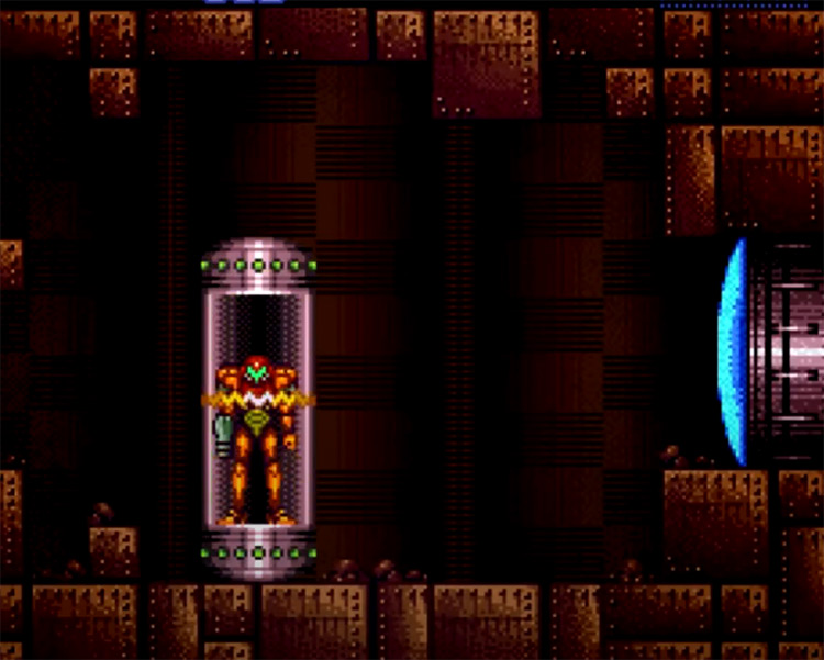 Super Metroid: Ascent ROM Hack Screenshot