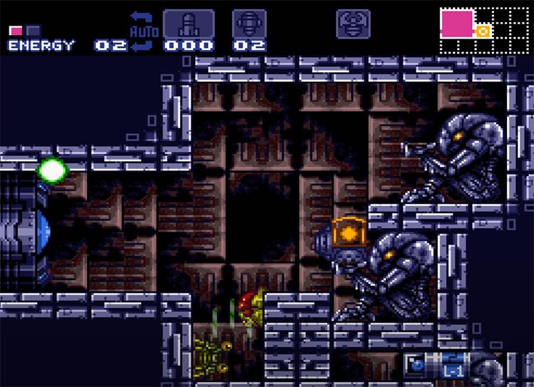 Metroid Super Zero Mission Hack