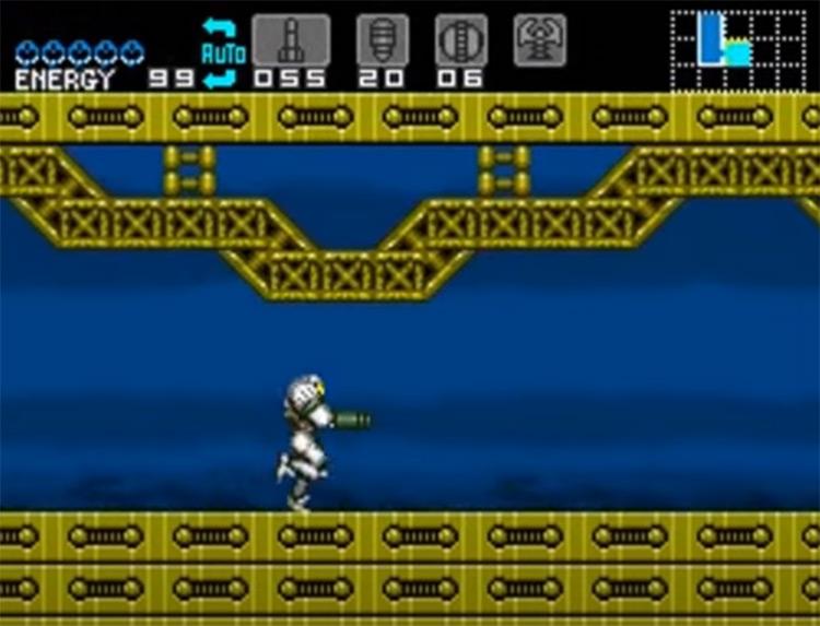 Super Metroid: Escape II Hack