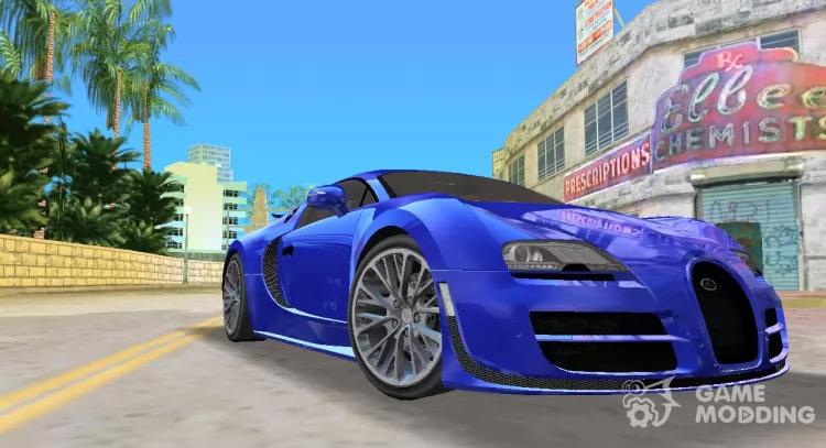Bugatti Veyron Mod for Vice City