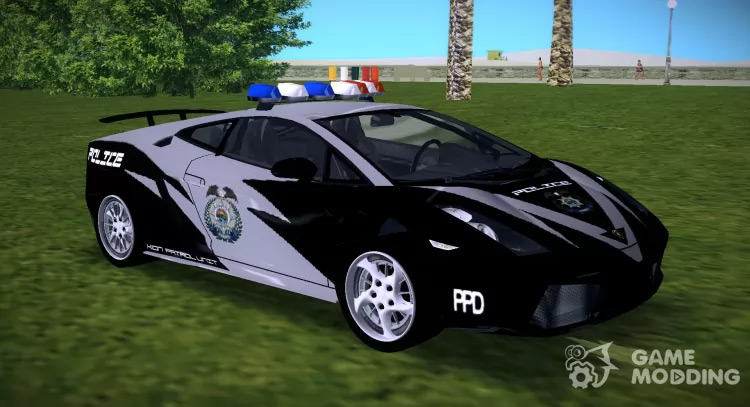 Lamborghini Gallardo XION PATROL Mod
