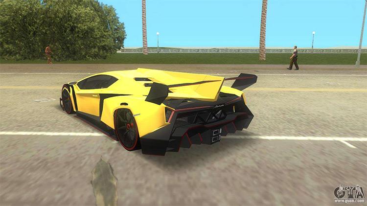Lamborghini Veneno - Vice City Mod