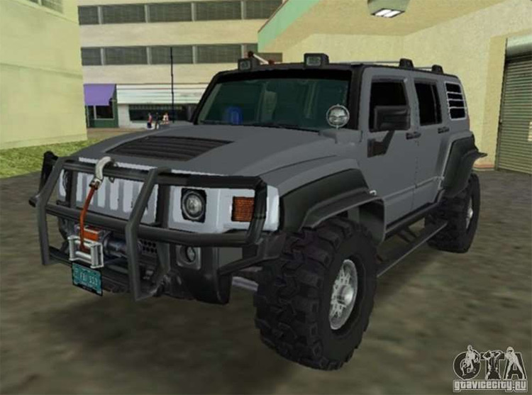 Hummer H3 SUV FBI - Vice City Mod