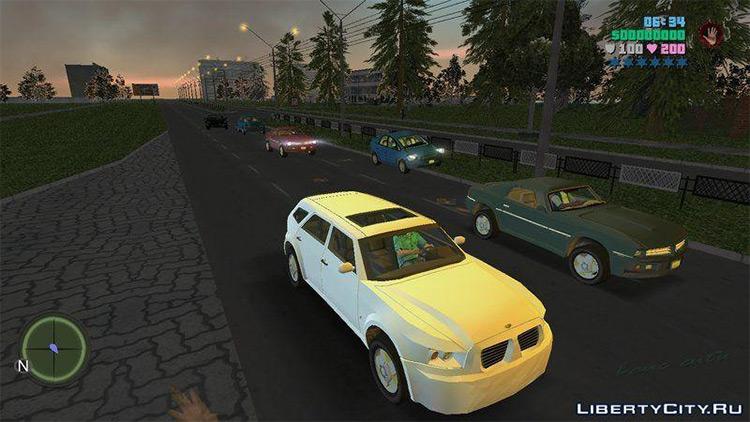 Saints Row: The Third Cars - GTA Vice City Mod