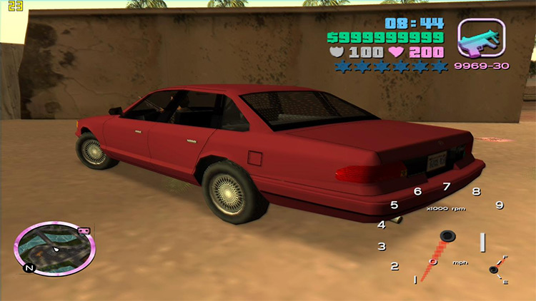 GTA IV Vehicles in Vice City