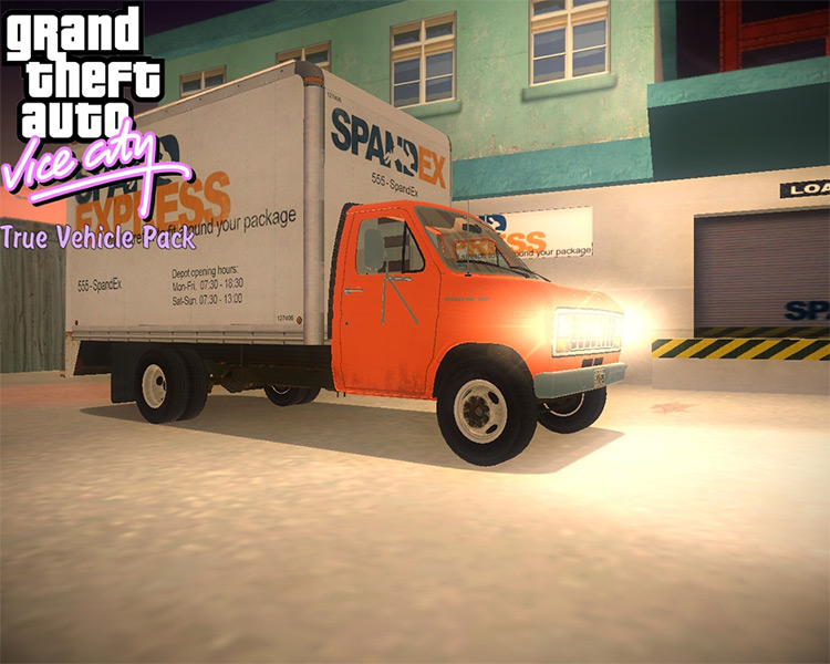 True Vehicle Car Pack for GTA Vice City