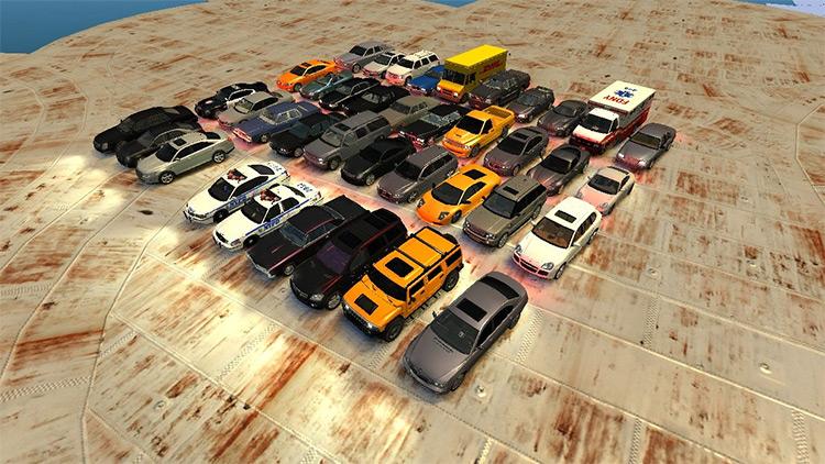 Ultimate Vehicle Pack v11 - GTA4 Mod