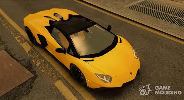 Lamborghini Aventador 50th Anniversary - GTA4 Mod