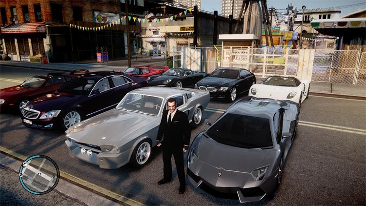 Realistic Car Pack V4 for GTA4
