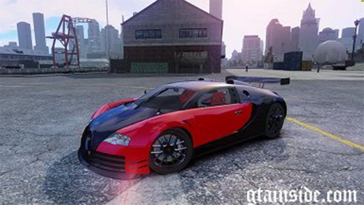 Bugatti Veyron 16.4 in GTA4