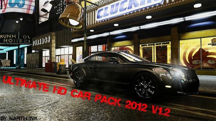 Ultimate HD Car Pack for GTA4