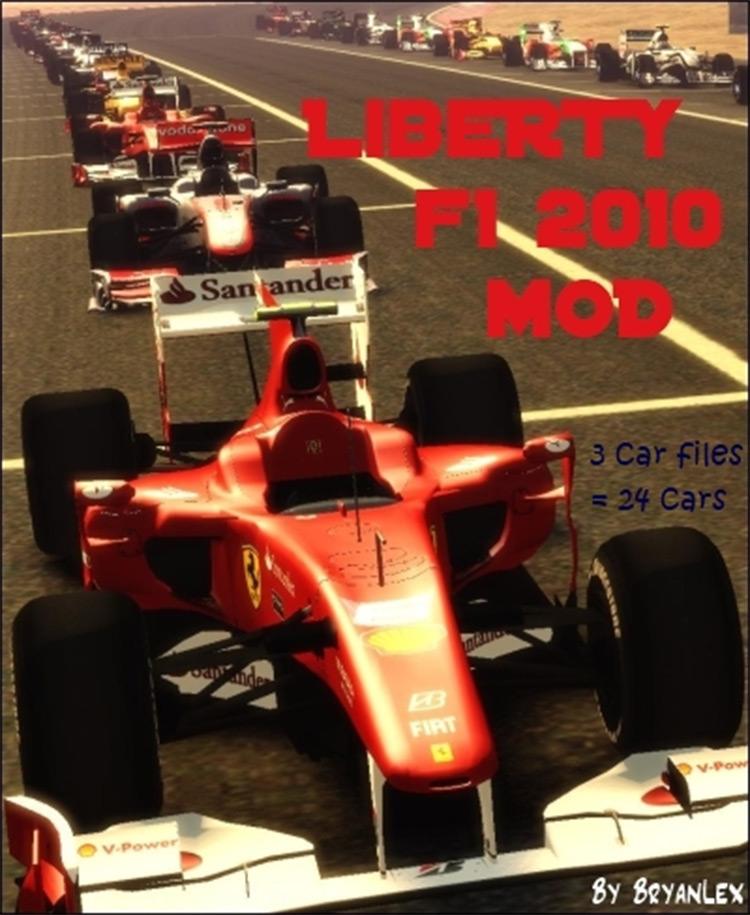 Liberty F1 2010 for GTA4