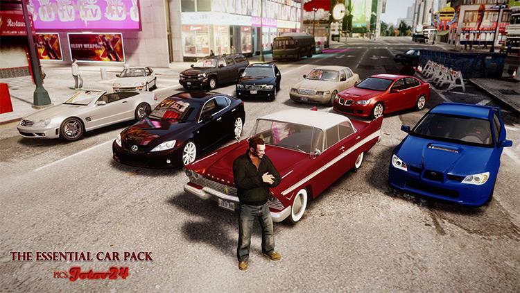 Essential Car Pack for GTA4