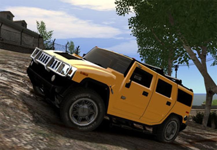 Hummer H2 in GTA4 - Car Mod
