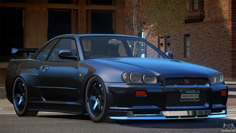 Nissan Skyline R34 - GTA4 Mod