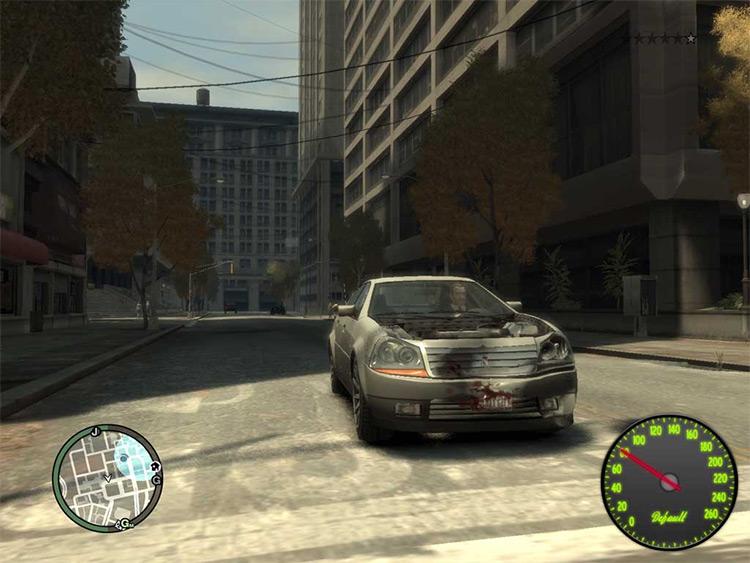 Speedometer IV - GTA4