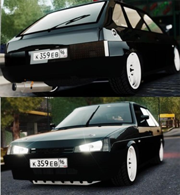 Lada 2109 for GTA4