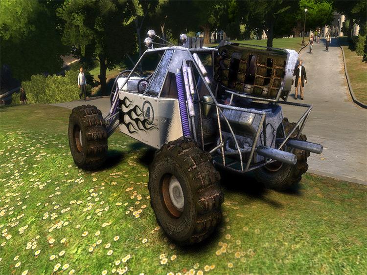 Buggy Fireball Mod for GTA4