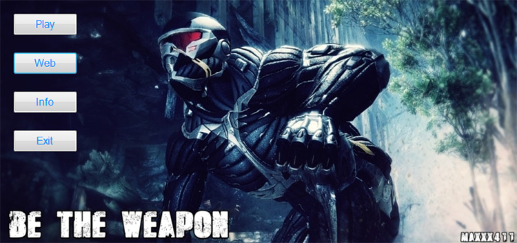 Be The Weapon Crysis 2 Mod