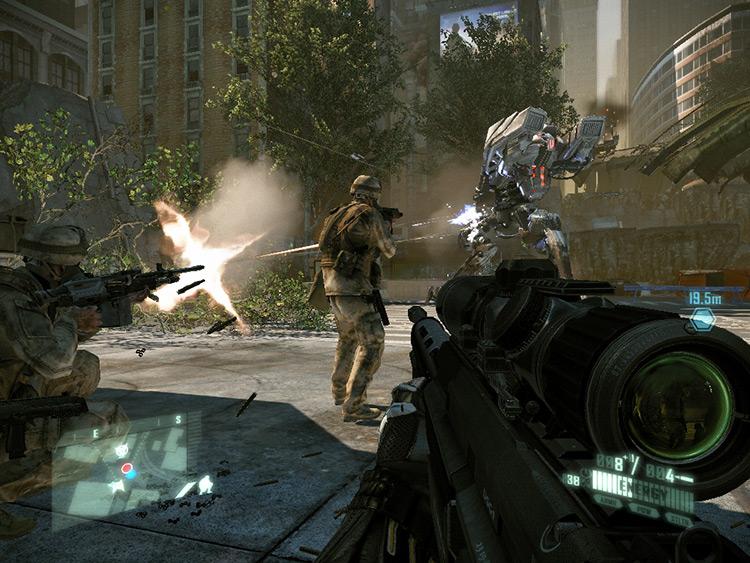 Crysis 2 Battle New York Crysis 2 Mod gameplay