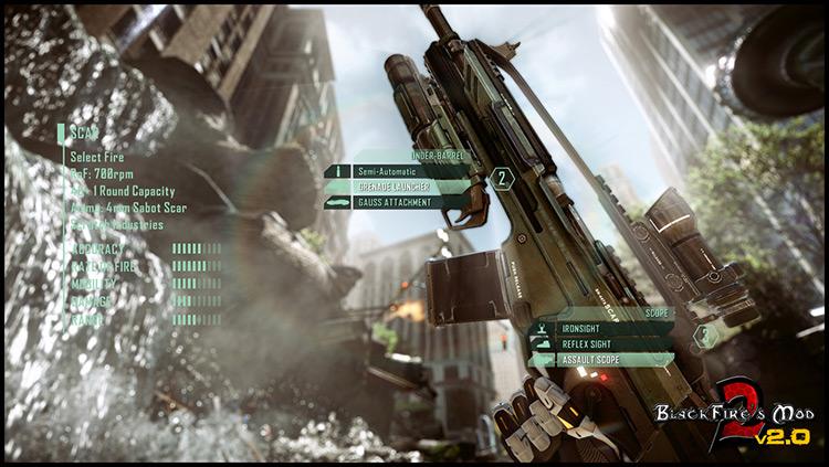 BlackFire's Mod 2 Crysis 2 screenshot