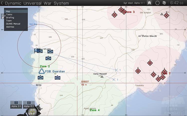 Dynamic Universal War System Arma 3 Mod screenshot
