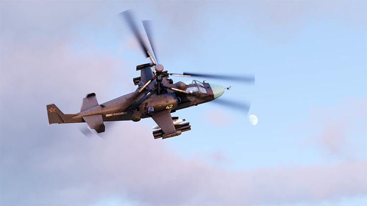 Helicopter RHSAFRF Arma 3 Mod