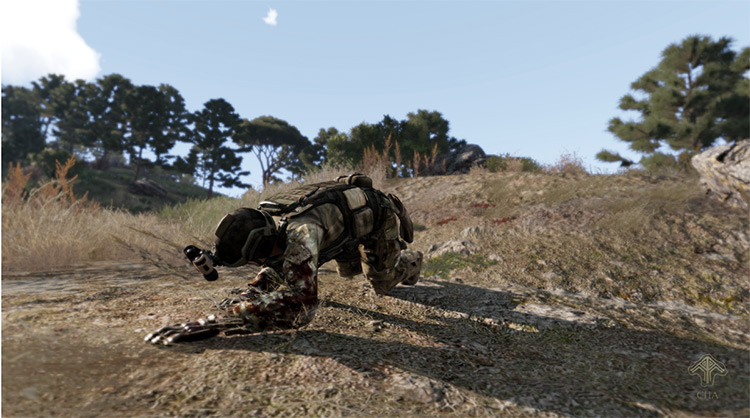 Project Injury Reaction Arma 3 Mod screenshot