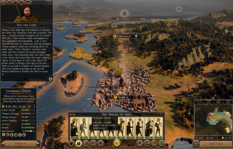 Cyrus The Great Campaign TWR2 Mods Screenshot