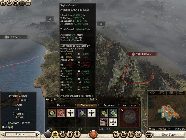 People of Rome 2 Mod Menu screenshot